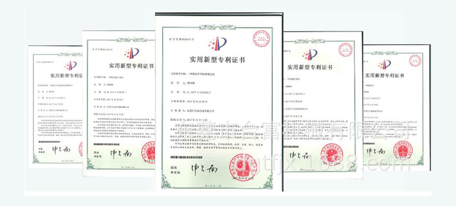 台富专利证书
