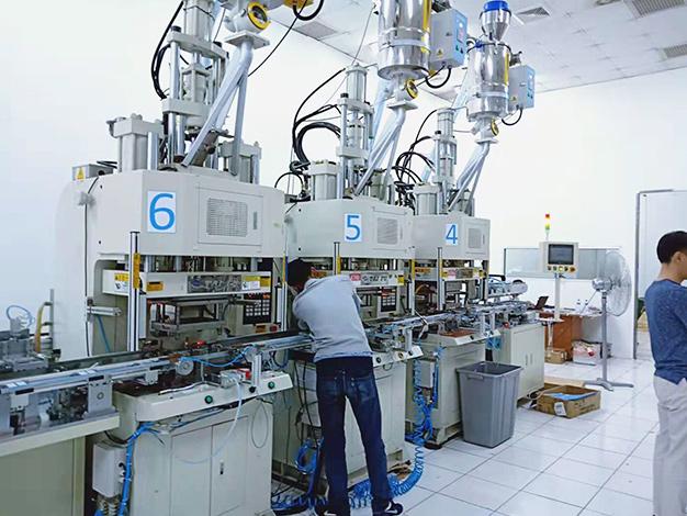 捷普·绿点公司订购台富机械立式C型注塑机