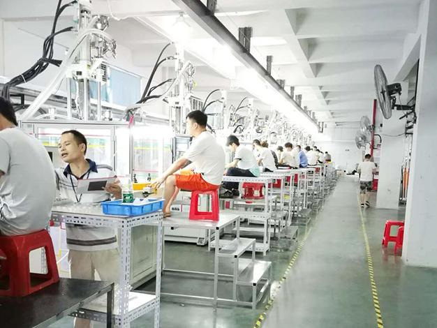 艾默生电气公司订购台富机械立式高速圆盘机