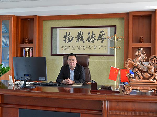 台富机械总经理办公室